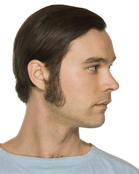 womens side burns original john blake film quality costume human facial hair