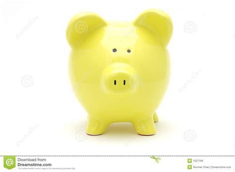 Yellow Bankers L by Tirelire Jaune Image Libre De Droits Image 1527166