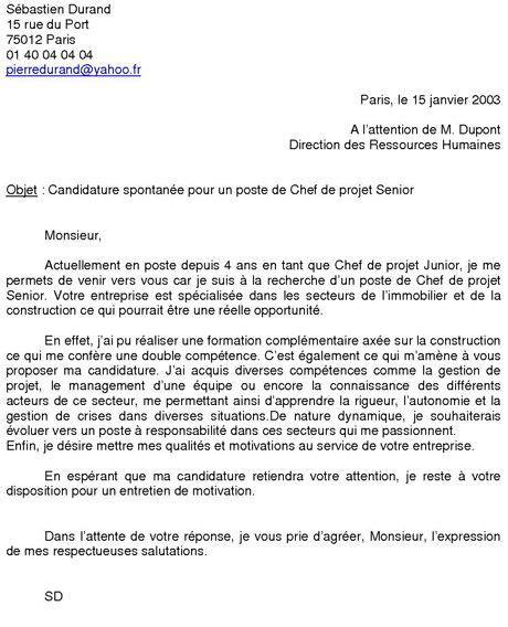 Conseil Lettre Fongecif lettre de motivation t 233 l 233 conseiller candidature spontan 233 e