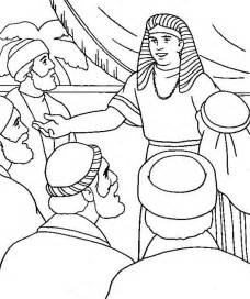 Coloring Pages Of Joseph And His Brothers joseph forgives his brothers coloring page coloring home