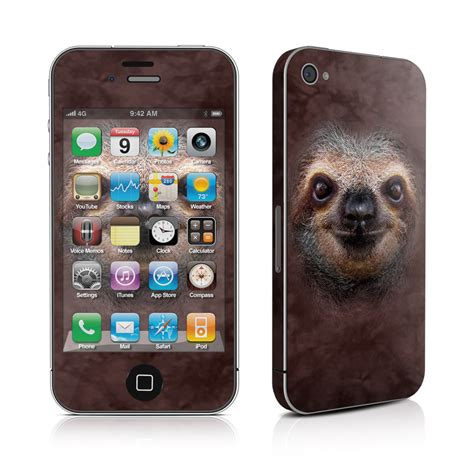 Skin Your Iphone With Decalgirl by Iphone 4 Skin Sloth By The Mountain Decalgirl