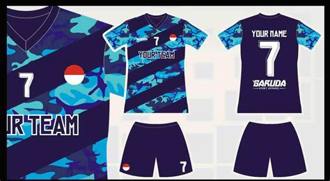 desain baju keren depan belakang 19 contoh desain baju bola futsal terbaru 2018 fashion