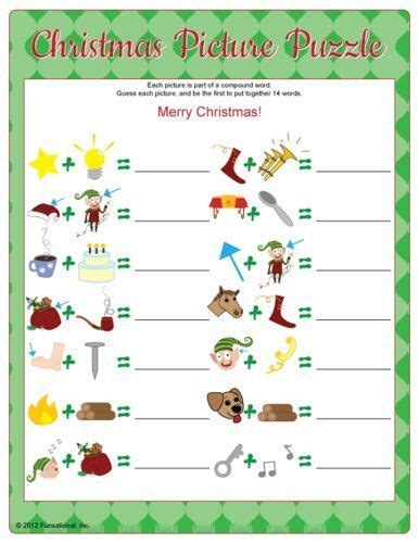interactive christmas party games