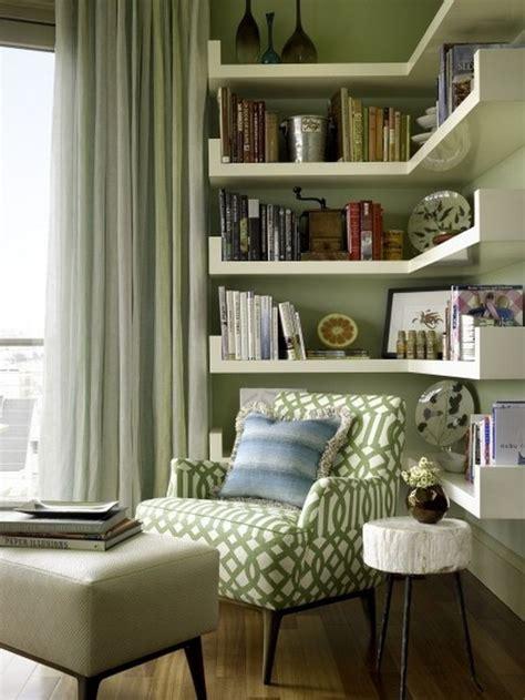 clever ideas small corner shelves  living room design corner bookshelves home living