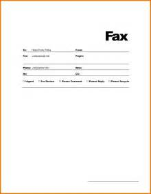 fax cover sheet template word 7 microsoft word fax cover sheet itinerary template sle