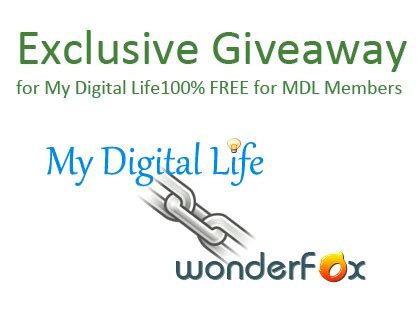 Exclusive Forum Giveaway by An Exclusive Giveaway Of Wonderfox Dvd Converter