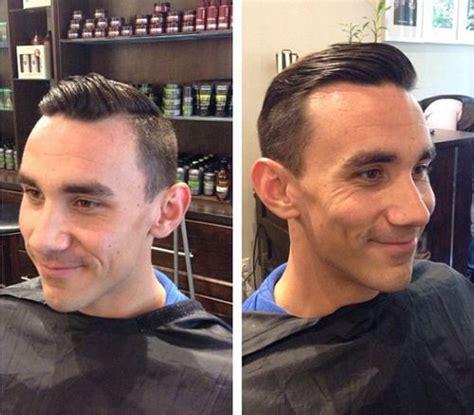 old man sweep over the baldness hair haircut images 40 cortes para homens com pouco cabelo moda sem censura