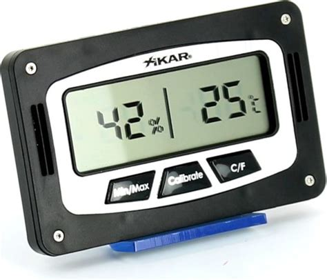 Thermometer Digital Corona xikar digital humidor hygrometer rectangular humidor discount no 1 for cigar humidors 18