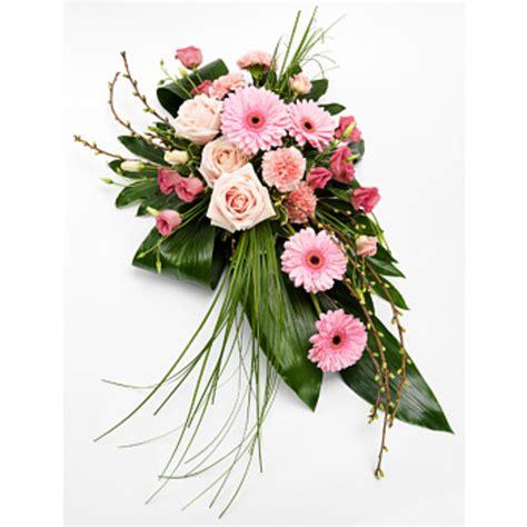pink single sprei set pink single ended spray funeral flowers arenaflowers
