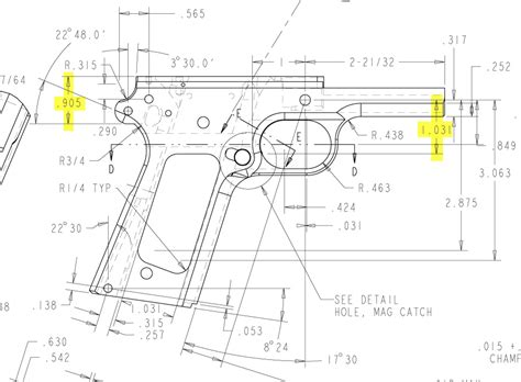a frame blueprints 1911 frame blueprint frame design reviews