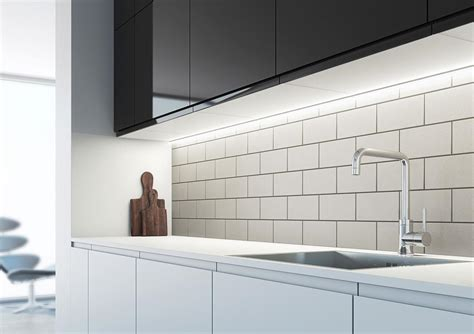 led strip kitchen lights under cabinet arrow slim profile sls led strip light a unique choice