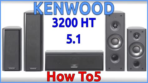 kenwood ks 3200 ht 5 1 home theatre system
