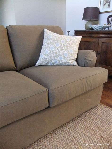 bassett furniture slipcovers durable and washable denim slipcover custom made for a