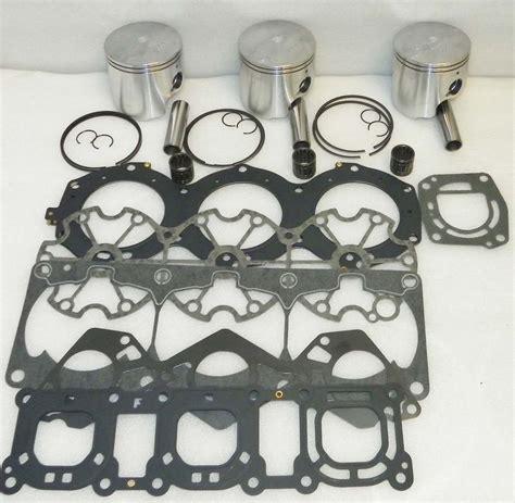 Piston Kawasaki 68mm Shark Pin 16 top end engine rebuild kit yamaha pwc 1200 010 826 20 354 90 parts reloaded your