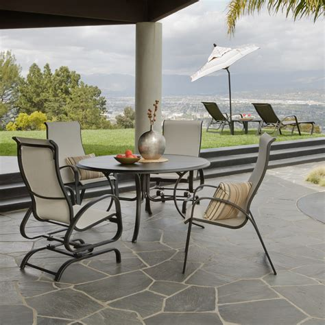 Patio Furniture Usa Telescope Casual Primera Sling Adjustable Swivel Rocker 9840