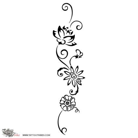disegno fiori stilizzati fiori stilizzati disegni tatuaggio di colibr 236 e fiori