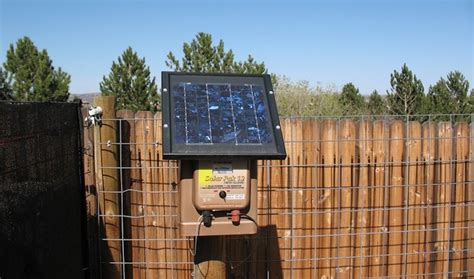 best solar electric fence charger what is the best solar fence charger on the market