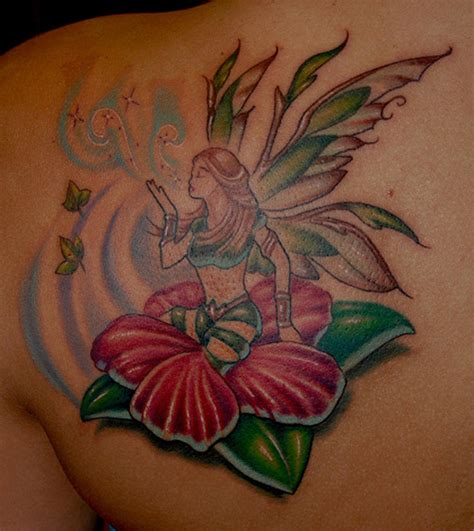 fairy and flower tattoo designs 15 pretty designs with names and meanings