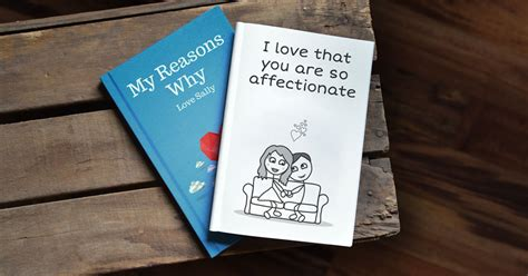 for the love of books personalized gift book that says why you love someone lovebook online