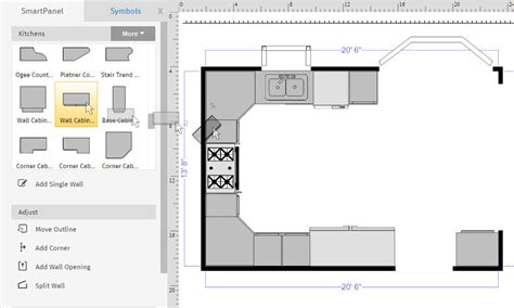 draw floor plan how to draw a floor plan with smartdraw