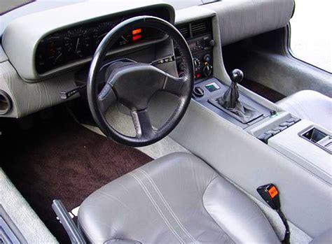 delorean interior original delorean interior 5 speed manual trans classic