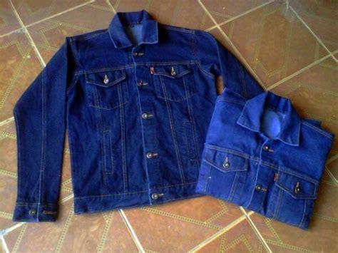 Jaket Original Rocafela Biowash Jaket Pria Pro jual beli jaket levis denim bio wash klasik navy blue garment pria wanita baru