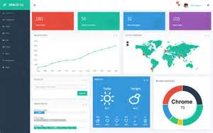 spacelab responsive admin dashboard bootstrap admin