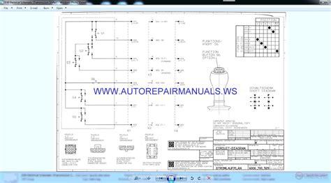 Link Belt Articulated Trucks Wiring Diagrams Shop Manual