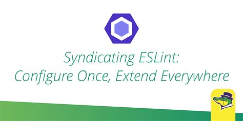jekyll extend layout syndicating eslint configure once extend everywhere