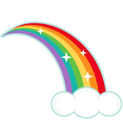 rainbow bridge coloring page clipart rainbow