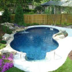 Backyard Inground Pools Cost Small In Ground Pool Bullyfreeworld