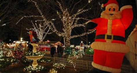 annual zoolights display helps stoneham s stone zoo