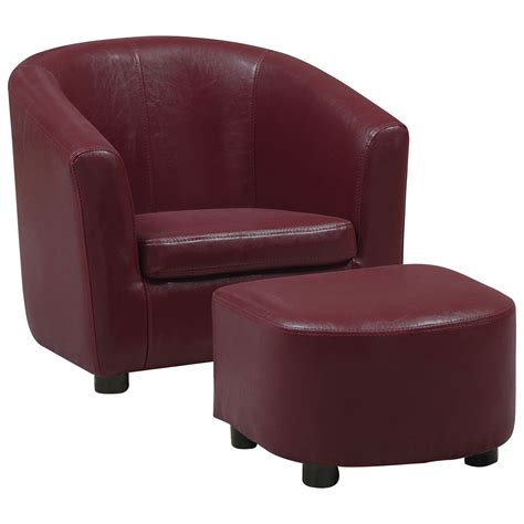 red accent chair with ottoman accent chair with ottoman emery berry accent chair with