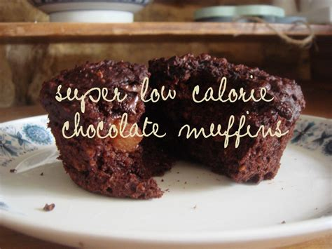 low calorie chocolate muffins