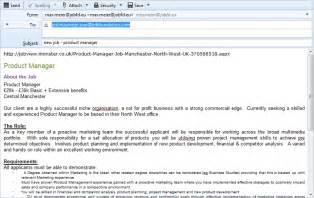 Job Application Email     jvwithmenow.com