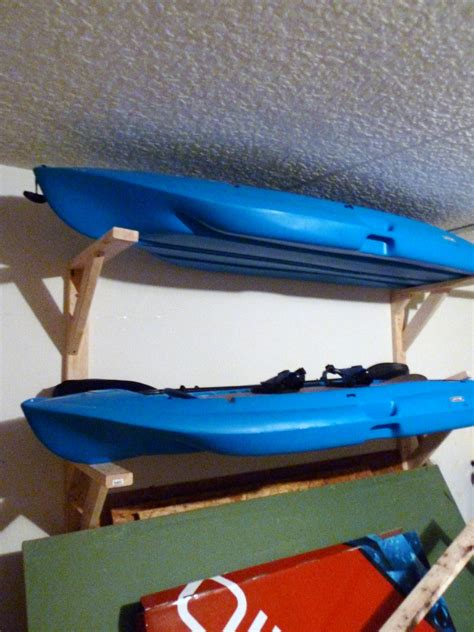 How To Build A Kayak Rack For Garage by Garage The Mace Place