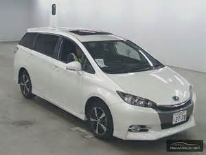 Toyota Wish Toyota Wish 1 8 X Aero Sports Package Limited 2012 For