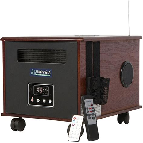 infralife 300 ptc infrared radiant heat space heater with