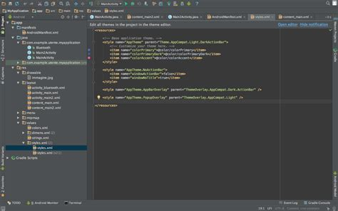 uninstall android studio remove bar title of application from android studio stack overflow