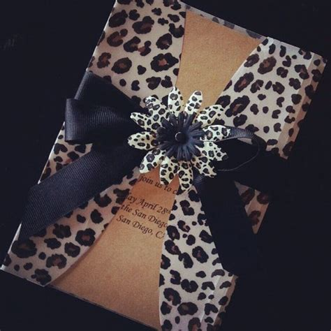 animal print wedding invitations best 25 leopard print wedding ideas on
