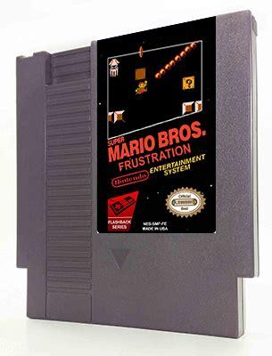 Mario Bros Frustration Unites Profanity And Gaming by Mario Frustration 36 00 Flashback Entertainment