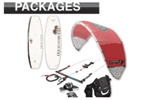 kiteboard package deals