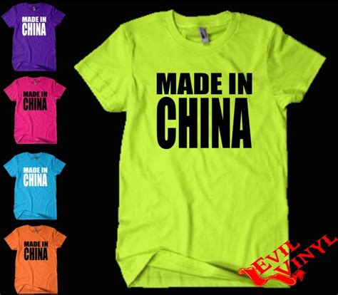 T Shirt I China made in china t shirt asian wiz harajuku ill