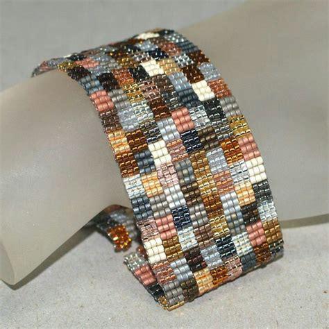 peyote beaded bracelets 1286 best beaded loomwork or peyote images on