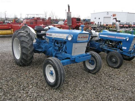 Ford 4000 1965 1970 Pdf Tractor Service Shop Manual