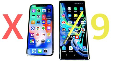 9 Iphone X by Iphone X Vs Note 9 Speed Test