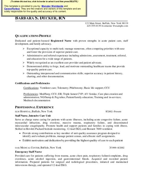 med surg rn resume exles the most brilliant med surg resume resume format web