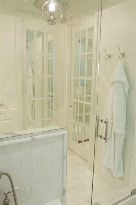 Mirrored Bathroom Door Mirrored Doors Transitional Bathroom Leo Designs Chicago