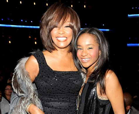 whitney houston and her daughter bobby browns finds comfort in belief that whitney houston