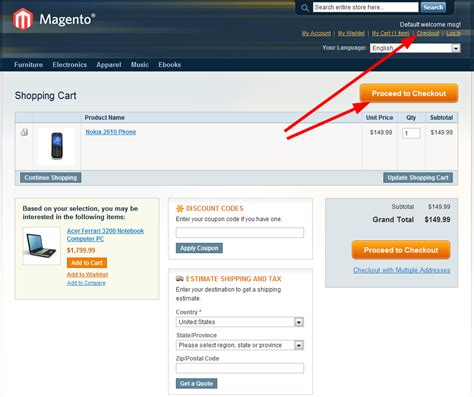 magento layout catalog product view magento conversion rate optimization cart and checkout